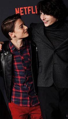 Noah Schnapp and Finn Wolfhard