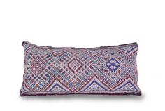 Kilim Berber Pillow Cushion 25x13 Vintage Handmade by BerberNomads
