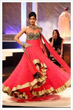 Suneet Varma bridal couture 2013