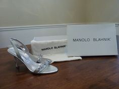 manolo blahnik shoe box for sale