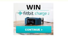 New year new you. Celebrate a fresh start in 2017 and kickstart your healthy living with a FREE Fitbit Charge 2. There are 50 up for grabs choose from black plum blue or teal! Enter now for a chance to win!  Fitbit Charge 2 Giveaway