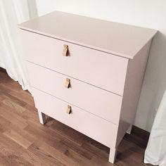 Ikea 'Tarva' drawer makeover