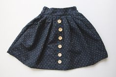 DIY Button Down Skirt (14 of 16)