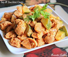 Aromatic Cooking: Soy And Zucchini Curry