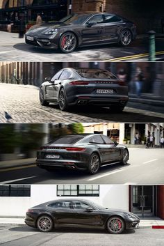The new #Panamera Turbo has a 4.0-litre twin-turbo V8 engine producing 404 kW (550 hp). Learn more: link.#porsche.com/... *Combined fuel consumption in accordance with EU 6: 9.4-9.3 l/100 km; CO2 emissions: 214-212 g/km.