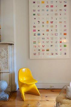 Ten creative ways to display children's art