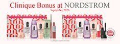 Choose one of two 8-piece Clinique gifts at Nordstrom with any $35 purchase. A promo code required. Spend $85 and receive 4 more products.