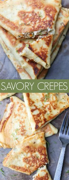 Recipe for savory Crepes with Meat, Mushroom and Veggie Filling recipe. Perfect … Recipe for savory Crepes with Meat, Mushroom and Veggie Filling recipe. Dinner Crepes, Breakfast Desayunos, Mexican Breakfast, Breakfast Sandwiches, Healthy Crepes, Savory Crepes, Crepes Filling, Filling Recipe, Filling Food