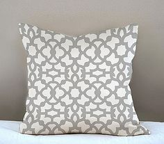 Pillow stenciled with Zamira Craft stencil by cuttingedgestencils, via Flickr only $17.95!