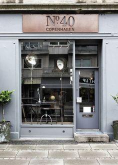No. 40 | Copenhagen #shop #window #sign:
