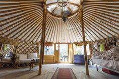 Traditional Kazakh Yurt Interior