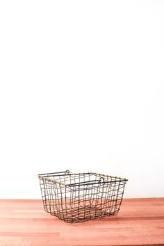 Great for a stroll in the garden to carry your fresh cut flowers or vegetables. Excellent bread basket.    Dimensions:W 26 x D 20 x H 12 cm   Grey Market Basket by Fog Linen Work. Home & Gifts - Home Decor Canada
