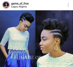 Photo by 'esther Tom in Lagos, Nigeria. Image may contain: 2 people African Braids Hairstyles, Braided Hairstyles, Wedding Hairstyles, Natural Afro Hairstyles, Hairstyle Short, Protective Hairstyles, Cabello Afro Natural, Pelo Natural, Natural Hair Braids
