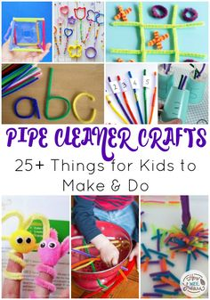 Pipe cleaners are a versatile craft material that is easily obtainable if it is not already in your craft supplies at home. With pipe cleaners kids can twist them into many kinds of crafts, use them for learning activities such as STEM projects or fine motor activities. Kids can even make little toys to play...Read More »