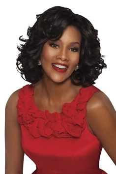 Vivica Fox Lace Front Wig Leona - Lhboutique.com Cheap Real Hair Wigs, Cheap Wigs, Best Lace Wigs, Best Wigs, Short Hair Wigs, Human Hair Wigs, Synthetic Lace Front Wigs, Synthetic Wigs, Curled Hairstyles