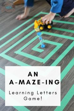 This game makes learning letters fun and simple! Your little one will love learning letters with this easy, little prep, quiet time activity! Quiet Time Activities, Kids Learning Activities, Alphabet Activities, Fun Learning, Letter Learning Games, Letter Games, How To Make Letters, Kindergarten Age, Letter Sounds