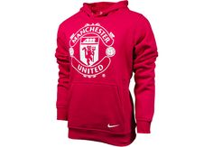 Nike Manchester United Core Hoodie Diablo Red with White Soccer Outfits, Cute Teen Outfits, Nike Outfits, Dance Outfits, Manchester United Hoodie, Nike Sweatshirts, Soccer Hoodies, Nike Wedges, Nike Design