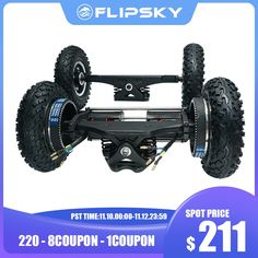 Drop Through Longboard, All Terrain Tyres, E Scooter, Remote Control Toys, Motor Parts, Atv, Offroad, Skateboard, Monster Trucks