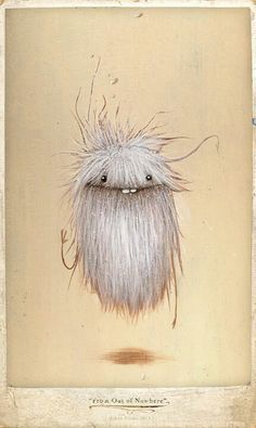 Johan Potma - Illustration - Monster - Zozoville - From Out of Nowhere Cute Monsters, Little Monsters, Fantasy Kunst, Fantasy Art, Art And Illustration, Arte Tim Burton, Animal Drawings, Art Drawings, Art Actuel
