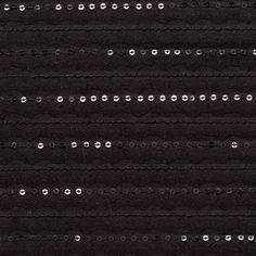 Black Stripes Carolina Herrera Sequined Cotton