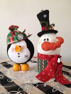 Aprende hacer cajas navideñas de fieltro