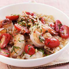 Garlic-Basil Shrimp Recipe - Delish