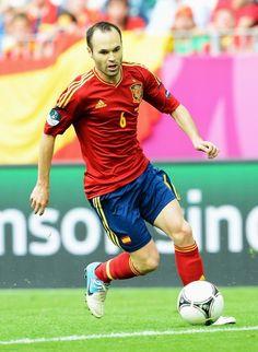Andres Iniesta was born in Fuentealbilla, Albacete