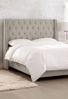 Skyline Furniture Tufted Upholstered Headboard Love The