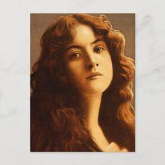 Maude Fealy Postcard Size: ' ' Postcard. Gender: unisex. Age Group: adult. Material: Matte. Nature Paintings, Postcard Size, Mona Lisa, Gender, Faces, Group, Unisex, Artwork, Inspiration