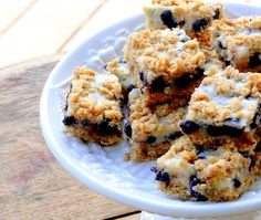 Blueberry-Lemon Oatmeal Bars | Noble Pig
