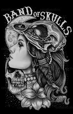 Band+of+Skulls+Print+by+Fathi+on+CreativeAllies.com