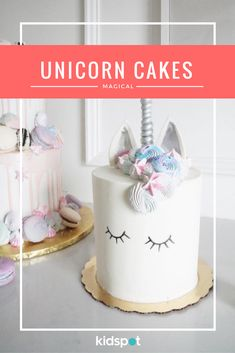 Forget gravity-defying cakes, smash cakes and other lolly-overloaded birthday cakes. It's all about the Unicorn cake!