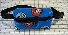 Free pattern and directions to sew a Kid's Hip Pouch or Fanny Pack for Boys or Girls - Debbie Colgrove, Licensed to About.com