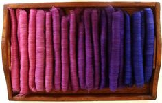 Polwarth/Silk  Smooth Spinning Rolags 4 by FriendsinFiber on Etsy, $24.00