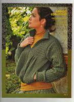 "Photo from album ""Tejido practico Crochet on Yandex. Pullover Sweaters, Men Sweater, Views Album, Crochet Patterns, Model, Yandex Disk, Fashion, Knitting Needles, Jackets"