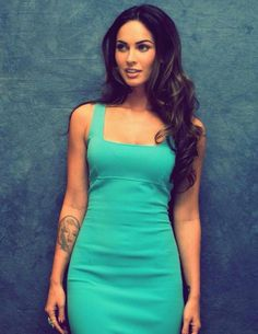 Megan Fox, so beautiful. Gorgeous Women, Beautiful People, Gorgeous Hair, Beautiful Eyes, Absolutely Gorgeous, Look Kim Kardashian, Megan Fox Style, Megan Fox Body, Megan Denise Fox