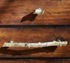 Zinc Alloy Knobs Bird Silhouettes 38mm Cupboard Drawer Door Handles Decorated
