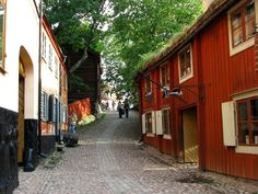 Skansen Open Air Museum in Stockholm, Sweden- one of the first living history villages.