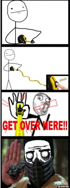 I always do this after working with a tape measure.