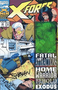 X-Force (1991 1st Series) 25CASSGND