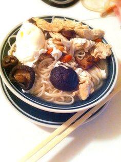 レシピとお料理がひらめくSnapDish - 16件のもぐもぐ - Chicken &egg noodles by sherry