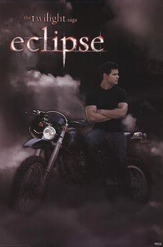 Twilight 3 - Eclipse - Jacob - Bike Poster