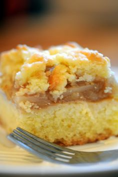 Polish Apple Cake