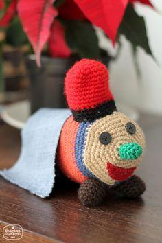 Crochet Caga tió - Caga tió de ganchillo