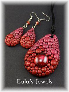 Draig - teine jewelry set by Shatiel85.deviantart.com on @DeviantArt