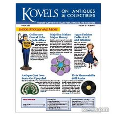 Kovels on Antiques and Collectibles Vol. 41 No. 7 – March 2015