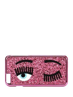 Chiara Ferragni - Accessori - Accessori - Cover per cellulare iPhone 6 Plus con glitter. - ROSA - € 35.00