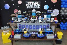Festa infantil com tema Star Wars