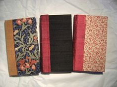 How to make book cloth:fabric, bondaweb and fine Thai mulberry tissue all ironed together.