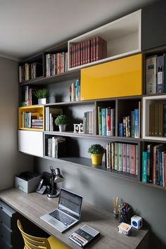 Office Interior Design Ideas is very important for your home. Whether you pick the Corporate Office Design Workspaces or Corporate Office Decorating Ideas, you will create the best Office Interior Design Ideas Billy Bookcases for your own life. Home Office Storage, Home Office Setup, Home Office Space, Office Style, Office Workspace, Office Interior Design, Office Interiors, Lobby Interior, Office Designs